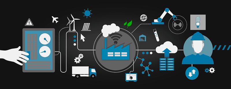 Smart Production beschreibt letztlich immer die nahtlose Verbindung von digitaler und realer Welt sowie die Vernetzung der gesamten Wertschöpfungskette.